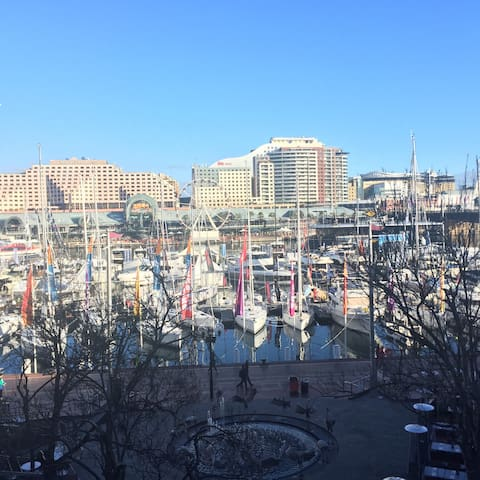 1 bedroom with queenbed in Pyrmont - Pyrmont - Appartement