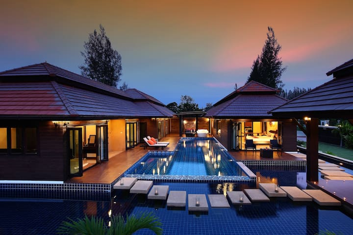 Luxury 3-Bedroom Pool Villa - Tha Wang Tan - Willa