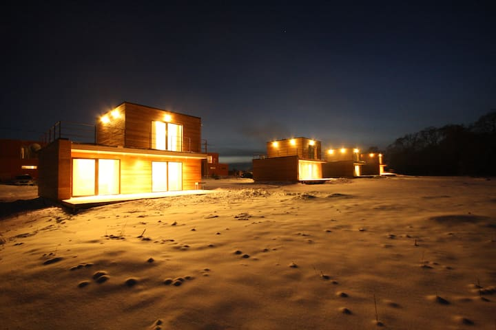 Эко-дома с сауной в Kosmovo Club  - Verkhnee Kosmovo - House