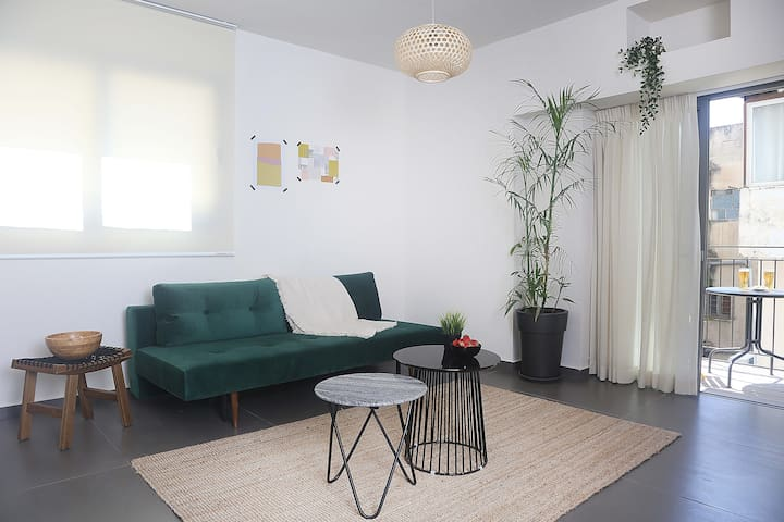 Amazing 2BR apt with balcony and cleaning