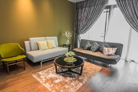 1-room Modern Chic Downtown Suite - Kota Kinabalu - Apartment