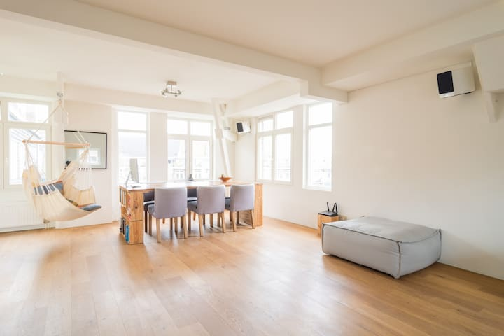 Unique loft apartment in nice area! - Ámsterdam - Loft