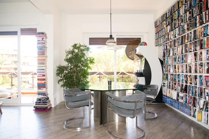 Sunny Room  Loft Rome Eur  comfort e design