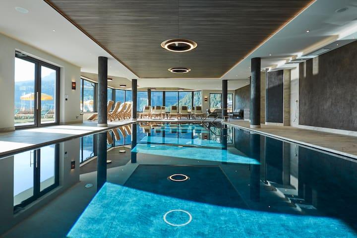 Appartamento bilocale accogliente, vista e piscina