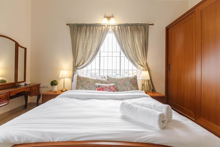 Master Bedroom - All our rooms have tasteful accessories that add to feeling of home.