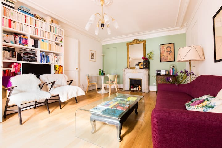 Super 60m2 in trendy neighborhood! - Paris - Apartamento