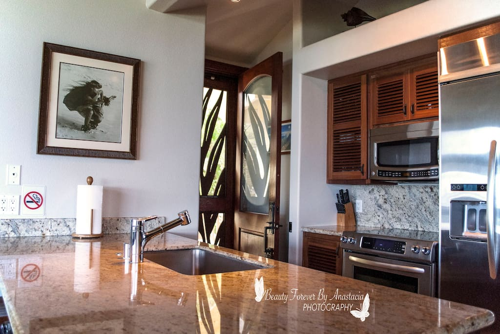 Fully appointed kitchen to share with  host and other guests.