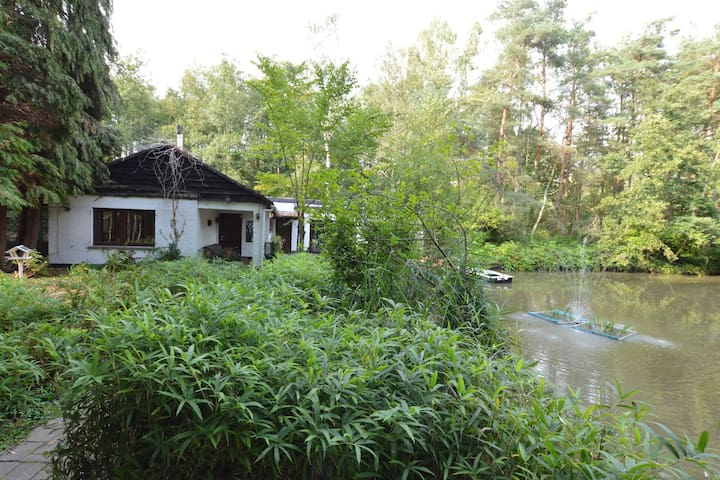 Boutique Holiday Home in Balen Near Pond