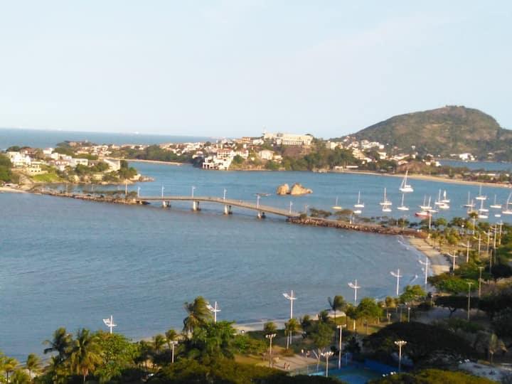 Excepcional localização e serviço - Praia do Canto