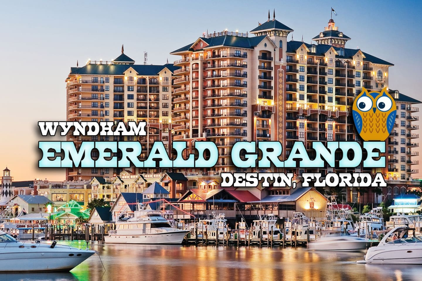 3 Bedroom vacation rental condo at Wyndham Emerald Grande Resort in Destin Florida