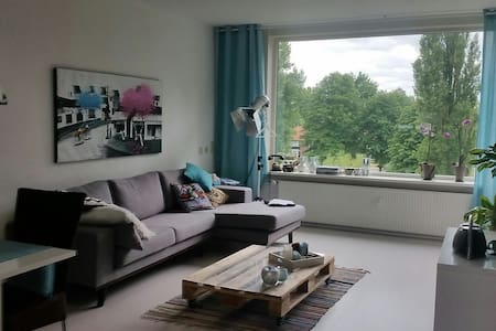 Large modern apartment with balcony - Arnhem