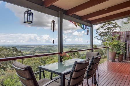 FEATHERVIEW Best View Farm Stay - Montecollum - Srub