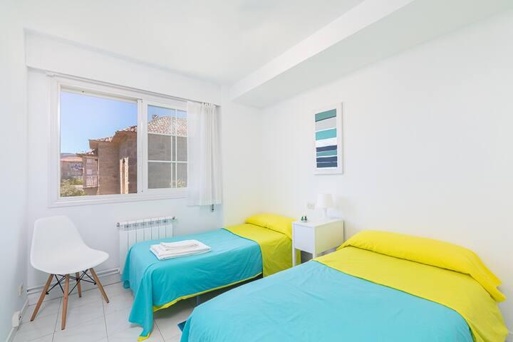 Dormitorio 3 con dos camas individuales