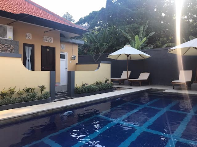 Kubukarang homestay simple and convenient