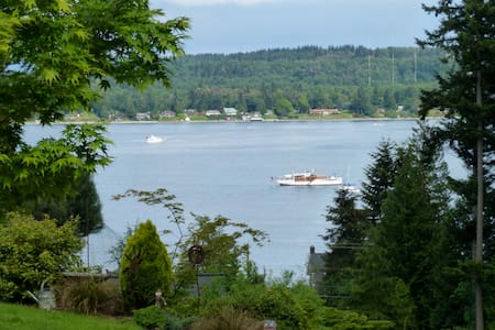 Breathtaking View House - Quartermaster Bay - Vashon - Talo