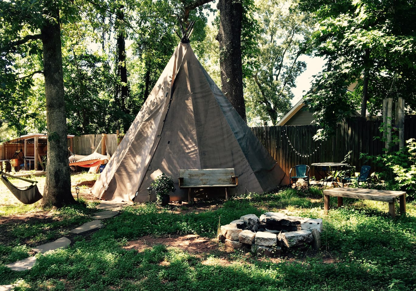 tepee in the city with ac u0026 heat tipis for rent in atlanta