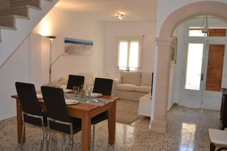 Lovely Townhouse With Patio,parking - Pollença