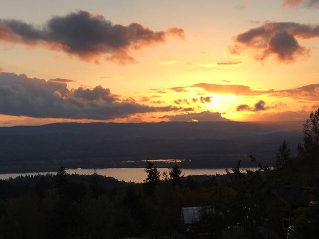 View overlooking Columbia River