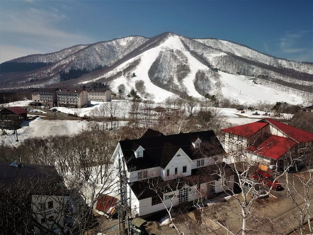 Ski lodge rooms in Madarao Mountain Resort