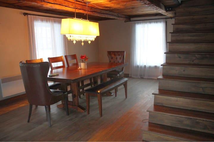 Votre chambre est au deuxième étage