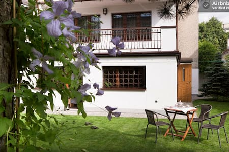 A garden flat in a beautiful house - Krakau - Wohnung