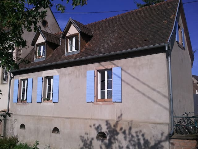 Maison écologique, calme + lumière! - Villé - House