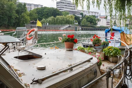 The Love Boat: Peace & A Fabby View - Joinville-le-Pont