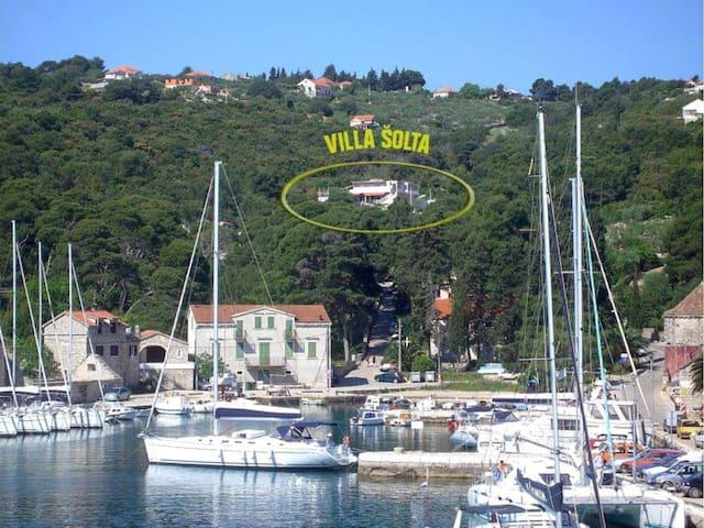 VILLA SOLTA - apartment (2+2) overlooking the bay