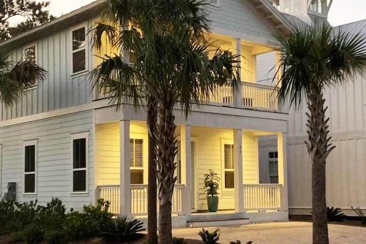 New House near 30A | Golf Cart | Community Pool
