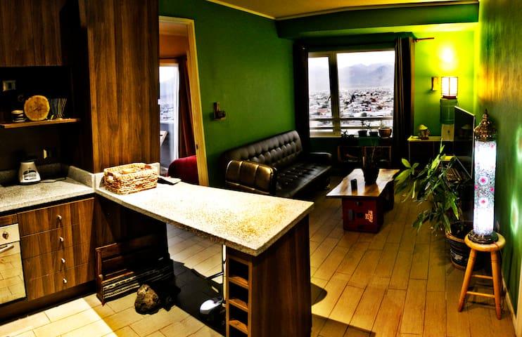 Rustic apartment // Departamento rústico