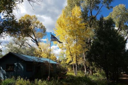 Chameleon, Rustic Cabin - Pecos - Kulübe