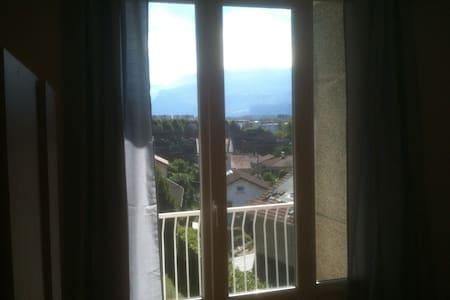 Chambre avec vue sur montagnes :)  - Saint-Martin-d'Hères