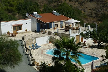 Enjoy Peace and Quiet at Cyprus Country Holidays - Vavla - Bungalow