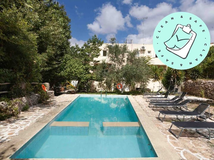 💫【SUNNY】Villa+Pool+WiFi+Park!