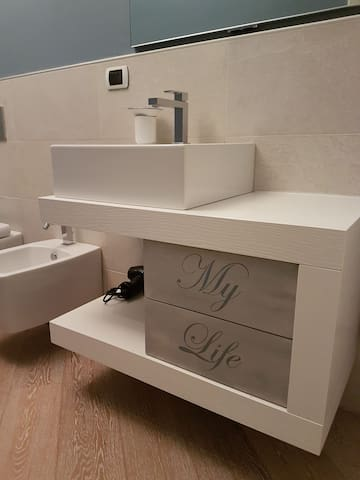 particular of the first bathroom