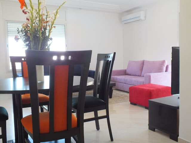 A beautiful cosi and clean apartment