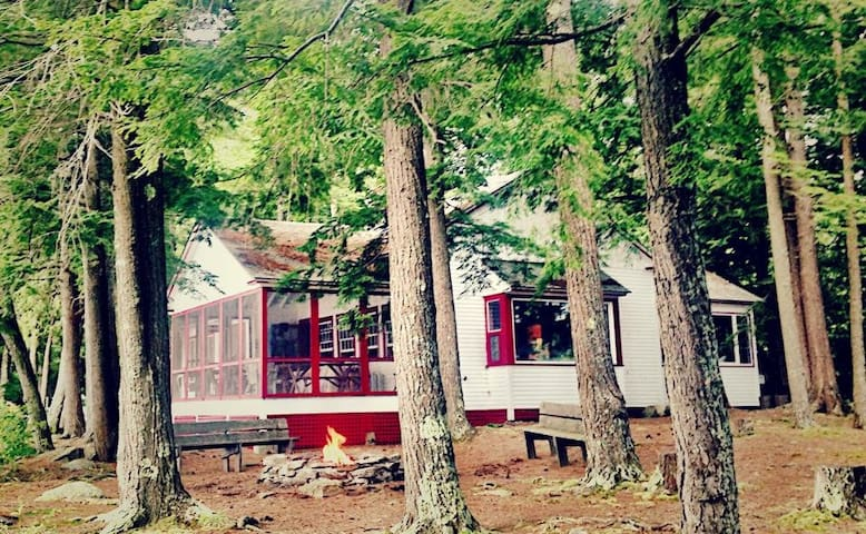 Secluded Lakefront Vacation Cabin - Fayette - Huis