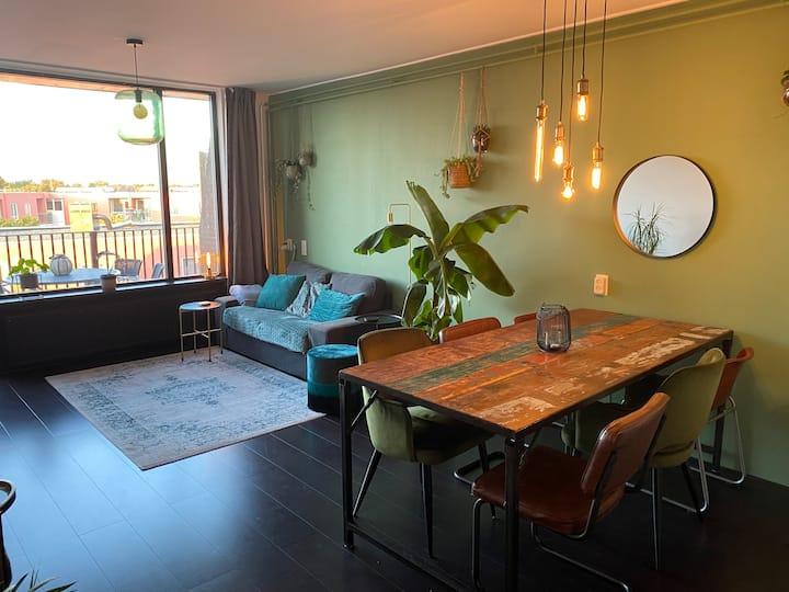 Ruim appartement in Haarlem stad, gratis parkeren