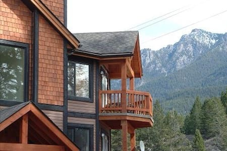 Mountain Style Top Floor 2 Bedroom  - Radium Hot Springs