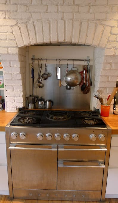 Double range cooker (great for Sunday roasts!)