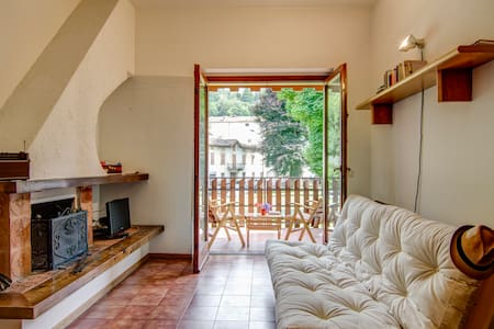Cosy apt among mountains and lake - Maggio