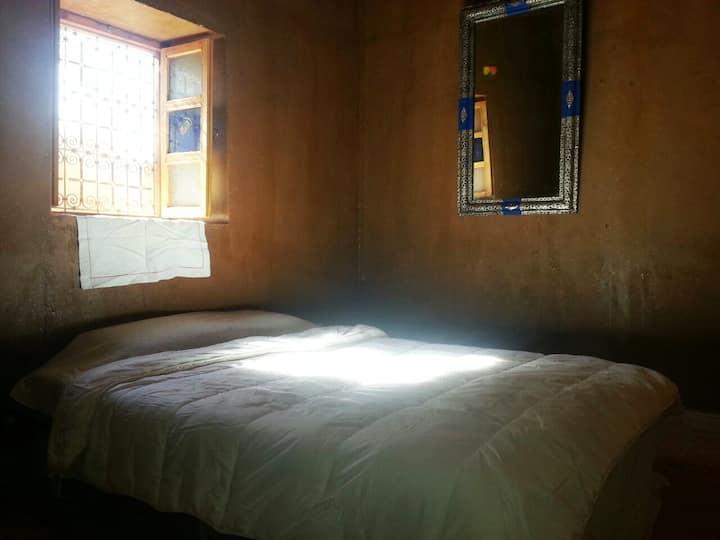 Chambre à l'Escale Nomade
