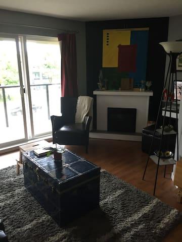 Cozy room in convenient location - Vancouver - Condominio