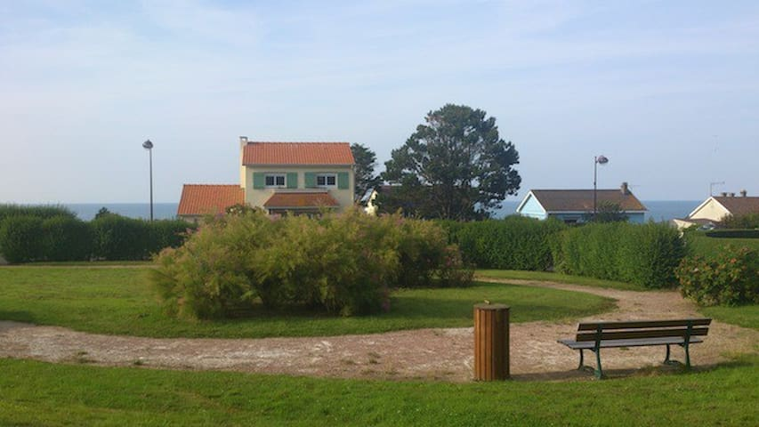 Villa agréable vue imprenable sur mer - Quiberville - Ház