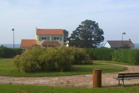 Villa agréable vue imprenable sur mer - Quiberville