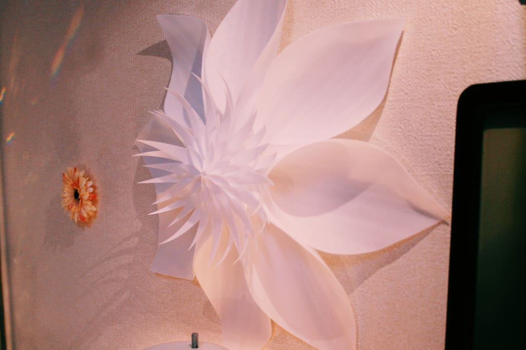 Hand-made Giant flower