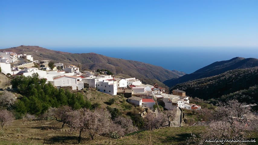 Alojamiento Rural Al sur de Granada - Sorvilán - Huis