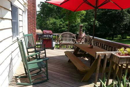 Cozy Catskill Lake Community Home