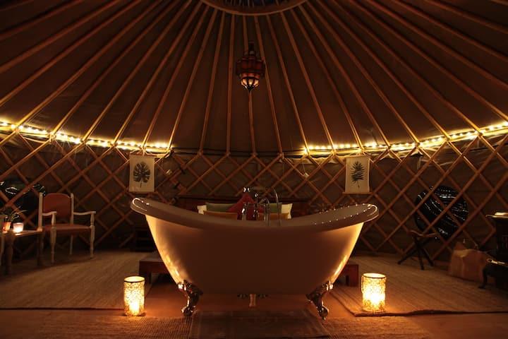 Luna Stella Yurt @ Cerchio Del Desiderio Glamping