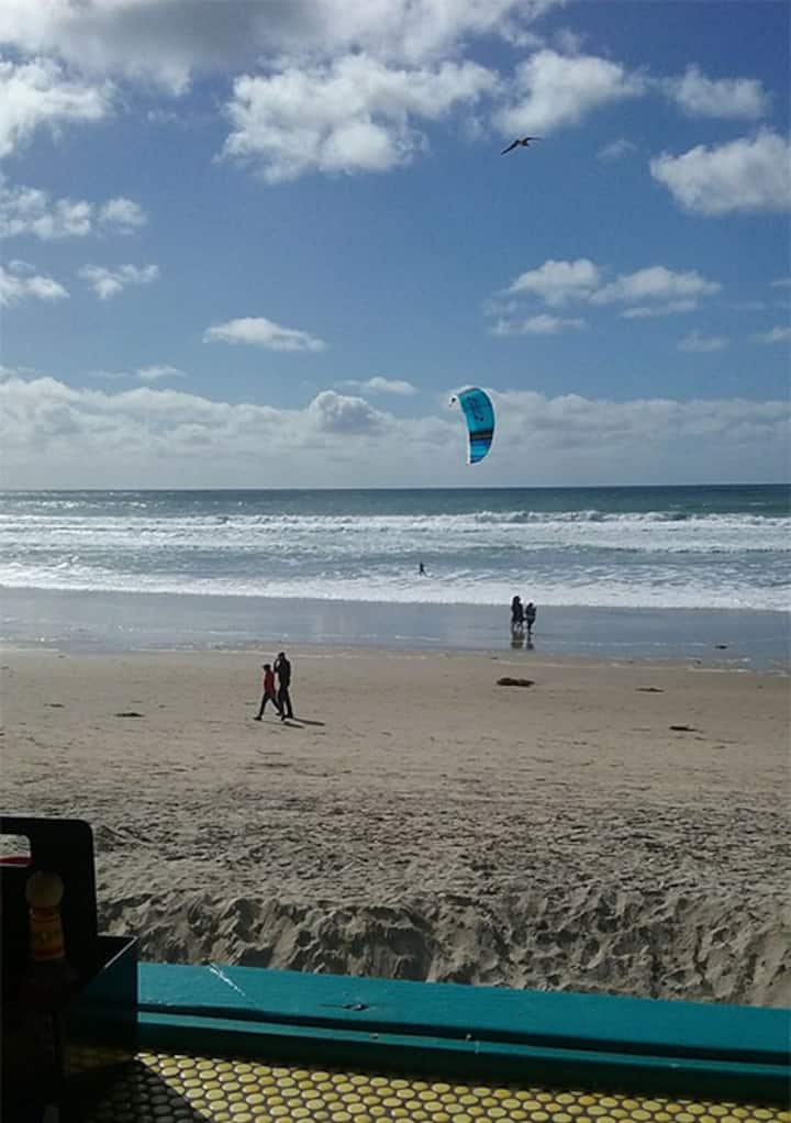 Kite Surfing!